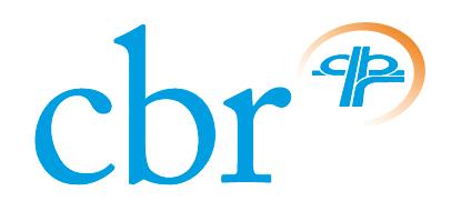 Het logo van het CBR